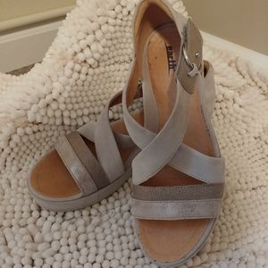Earth Wedge Sandals